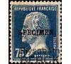 France - n° 177 - CI-1 - Spécimen - 75c Pasteur.
