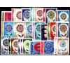 Europa - 1965 - 19 pays - 35 valeurs.