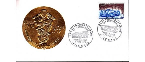 France - n°1761 - Les 24 heures du Mans - Médaille Or.