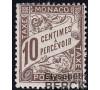 Monaco - Taxe n°  4 - Type Duval 1909.