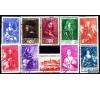 Monaco - n° 185/194 - Princes et princesses.