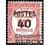 """Monaco - n° 146a - Variété - """" Surcharge 0 plus petit """""""
