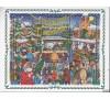 Belgique - n°2671/2679 - Dessin sur Noël et son marché - .
