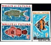 Wallis et Futuna - Taxe n° 37/39 - Non-Dentelé - Poissons.