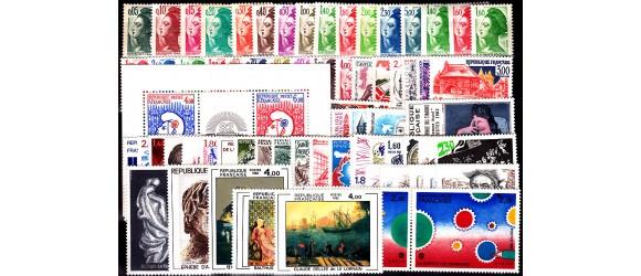 France - n°2178/2251 - Année 1982 - 74 valeurs.