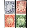 Vatican - n° 30/33 - Année Sainte de 1933 en Non dentelé - RR