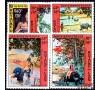 Laos - n° PA  96/100 - Peintures de Marc Leguay
