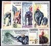 Laos - n° 44/50 - Les Eléphants.