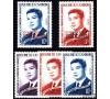 Cambodge - n°153/155-159/160 - S.M. SIHANOUK -   fondation de Sangkum, conférence des peuples indochinois.