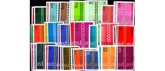 Europa - 1971 - 21 pays - 44 timbres.