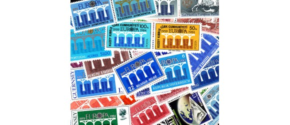 Europa - 1984 - Ponts - 35 pays - 69 timbres + 4 blocs.