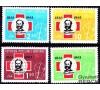 Albanie - n° 604/607 - Croix-Rouge.