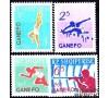 Albanie - n° 663/666 - Jeux sportifs à Djarkarta.