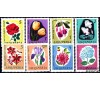 Albanie - n° 778/785 - Fleurs.