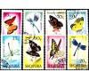 Albanie - n° 872/879 - Papillons et libellules.