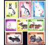 Albanie - n°1020/1027 - Lièvres et lapins.