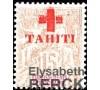 Tahiti - n° 35 - Croix-Rouge - 15c gris.