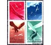 Hongrie - n°PA 53/56 - Avion - Aigle - Oiseaux.