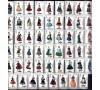 Espagne - n°1426... - Costumes régionaux - Série complète de 53 valeurs.