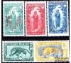 Congo - n° 67/71 - Moyen Congo - 2e série.