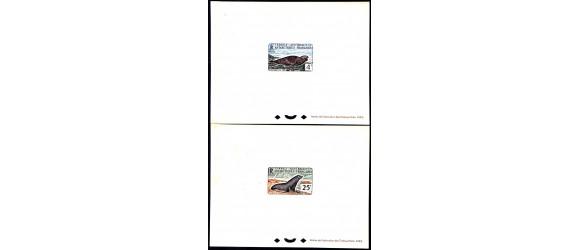 T.A.A.F. - n° 13B et 16 - Mammifères de l'Antartique.