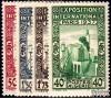 Algérie - n°127/130 - Exposition Paris 1937 - série complète -