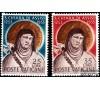 Vatican - n° 187/188 - Sainte Claire d'Assise.
