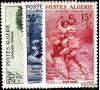 Algérie - n°346/348** - Peintures de Delacroix, Chasseriau, Fromentin.