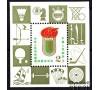 Chine - n°BF 20 - Jeux sportifs de 1979 - Echecs - Ping-pong - Parachute ... TB