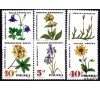 Pologne - n°1625/1630 - Protection des plantes officinales.