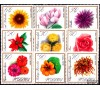 Pologne - n°1546/1554 - Fleurs.