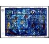 Nations Unies - BFn°4 - Vitrail de Marc Chagall.