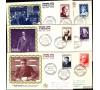 France - n° 989/994  - Personnages célébres - Série Valery complète en FDC - 1954