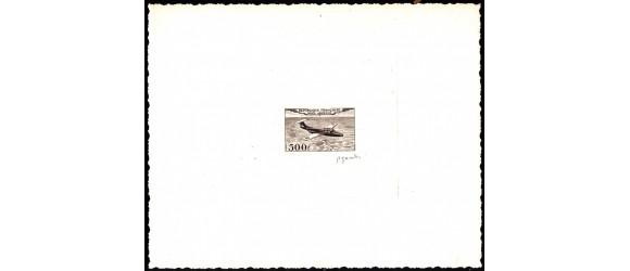"""France - n°PA 32 - """"Fleuret"""" - Epreuve d'artiste -Timbre Non Emis."""
