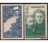 Monaco - n° 167/168 - Pierre et Marie Curie.