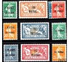 Levant - n° 28/37 - Timbres 1921/1922.