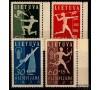 Lituanie - n°362/365 - 1ère Olympiade nationale lituanienne.