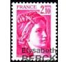 France - n°1978b - 2F10 Sabine - Sans Phosphore.