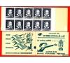 FRANCE -  Fictif - n°12e - PALISSY en GRIS dans un CARNET de 20 timbres à 6F. Paris Lyon Marseille NEUF** TTB