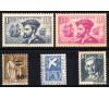 France - n° 294/298 - Année 1934 - 5 valeurs.