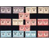Monaco - n° 140/153 - 1937-1938 - Timbres-taxe en paire.
