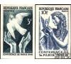 France - n° 761/762 - N.D. - Conférence de la paix à Paris 1946 -