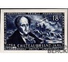 France - n° 816 - N.D. - Chateaubriand - Ecrivain -