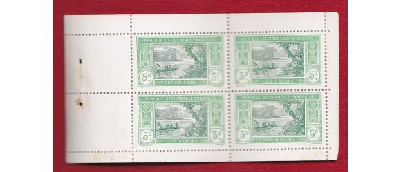 Cote d'Ivoire - n° 44  carnet de 10 feuillets de 4.