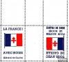 """France - Libération - Vignette """" De Gaulle"""" - Tête-bêche"""