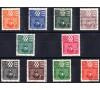 Saint Piere et Miquelon -  Taxe n° 67/76 - Variété 10c - Série complète.