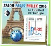 Bloc CNEP  - Salon Paris PHILEX 2016 - FOOTBALL et  EUROPE.