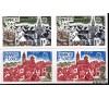 France - n°1928/1929 - Europa 1977 - N.D. en paire - Village provençal et port breton -