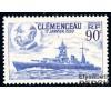 """France - n° 425 - Cuirassé """"Clémenceau"""""""