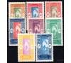 Dahomey - n°  70/78 - Cocotier - Série de 1925/1926.